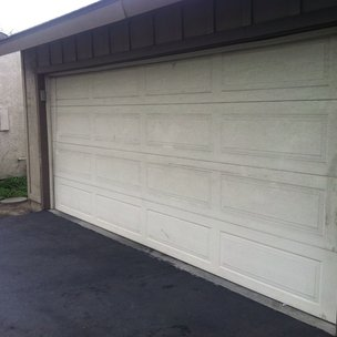 The Garage Door From The Outside. Anaheim Garage Door California Pepperwood  Repair Service Cables Sections